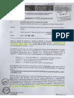 Memorando a Directora Oficina de Atención al Ciudadano y Gestión Documental