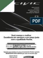 Civic 2013 - Manual de Manutenção e Garantia (1)