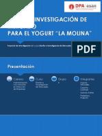 """Diseño e Investigación de Mercado, para el yogurt """"La Molina"""""""