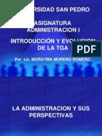 Introducción y Evolución de La Administracion-2 Parteok