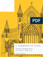Commerce of Taste - Church Architecture in Canada, 1867-1914