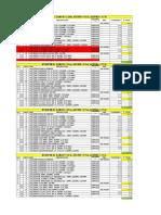 Lista de Materiales - Diseño de Estantes