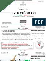 Proyectos estratégicos Conagua 2017