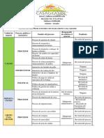 Resumen de Procesos, Politicas e Instructivos