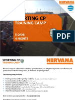 Sporting Lisbon Training Camp Nirvana Europe