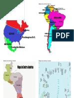 Mapa de América Del Norte MAPAS