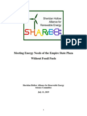 SHARE Science Report 7-11-19 | Fossil Fuel Power Station