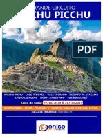 Grande Circuito Machu Picchu - Saída 07.10.2019 - Denise Viagens - Ideia Operadora de Turismo
