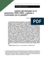 Democratización-peronismo