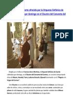Concierto ofrecido por la Orquesta de Cuerda