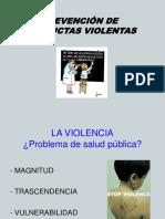 PREVENCION DE CONDUCTAS VIOLENTAS