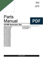 Manual Partes Motor CAT 3516B
