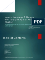 epse 512 issues in language   literacy of deaf and hard of hearing children