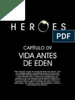 Heroes HQ 09 Vida antes Eden www brazilseries xpgplus com br