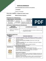 SESIÓN de APRENDIZAJE Ciencia y Tecnología Higiene 38445