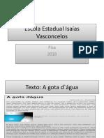 Escola Estadual Isaías Vasconcelos_Pisa