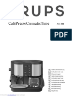 Krups 888 coffee