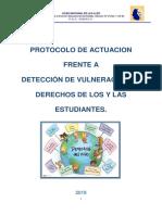 Protocolo de Vulneración de Derechos