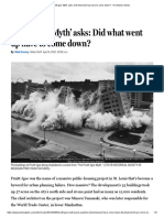 'Pruitt-Igoe Myth' Asks_ Did What Went Up Have to Come Down_ - The Boston Globe