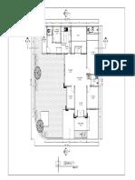 Denah rumah satu lantai