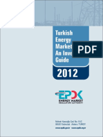 Turkish Energy Market An Investors Guide 2012