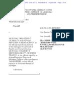 Plaintiff's Motion for Preliminary Injunction