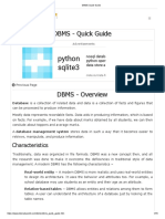 DBMS Quick Guide