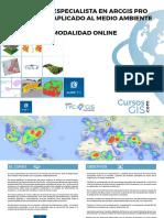 Curso Online Arcgis Pro Aplicado Al Medio Ambiente
