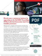 Elevate your e-commerce business by upgrading to the Dell EMC PowerEdge R740xd with 2nd Generation Intel Xeon Scalable processors