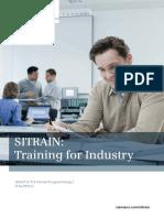 Sitrain TIA portal programming