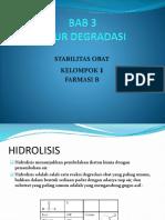Ppt Bab 3 Stabilitas Obat