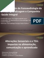 Alteracoes Sensoriais e o TEA