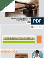 sesion 3 Organización y estructura de la administración pública - PPT.pptx