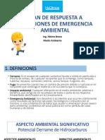 Plan de Respuesta a Situaciones de Emergencia Ambiental
