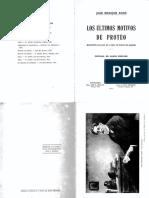 Rodo-Ultimos Motivos de Proteo-La Facultad Específica Del Crítico