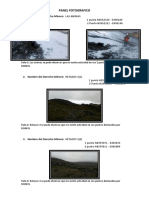 Panel Fotografico Verificacion