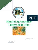 Manual Agronómico Cultivo de La Piña