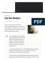 Isis the Mother