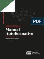 MANUAL DE ADMINISTRACION PUBLICA