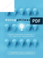 Timothy Williamson - Doing Philosophy_ From Common Curiosity to Logical Reasoning-Oxford University Press, USA (2018)