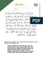 Hadeeth 38