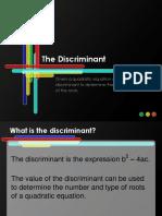 Discriminant.pptx