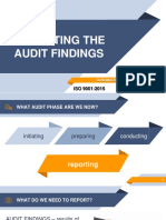 Audit Reporting Guidance