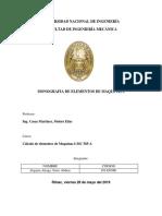 Monografia-calculo de Lementos de Maquinas 1