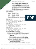 TIBCO Designer Tutorial - Query Database Table - Xmarter TIBCO Training Center - TIBCO Tutorials - TIBCO Trainer