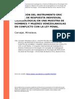 Validacion de instrumento ERIC