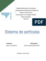 Dinamica Sistema de Particulas