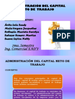Adm Del Capital Neto de Trabajo Grupo 2