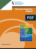 OSHA General Industry Digest