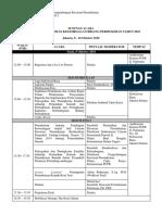2. Susunan Acara Ralat Undangan Peningkatan Kapasitas_Propinsi_Oktober 2018